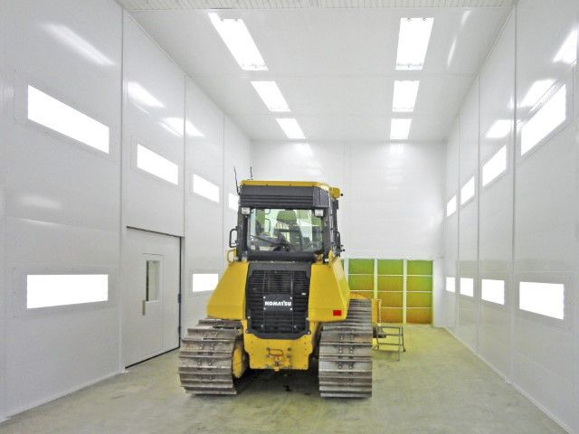 Belmeko paint booth