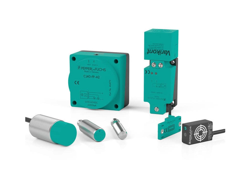 Capteurs de proximité capacitifs de la marque Pepperl+Fuchs