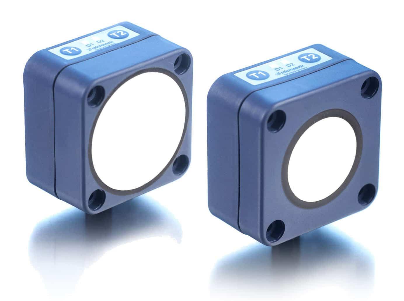 Capteurs de proximité à ultrasons de la marque microsonic