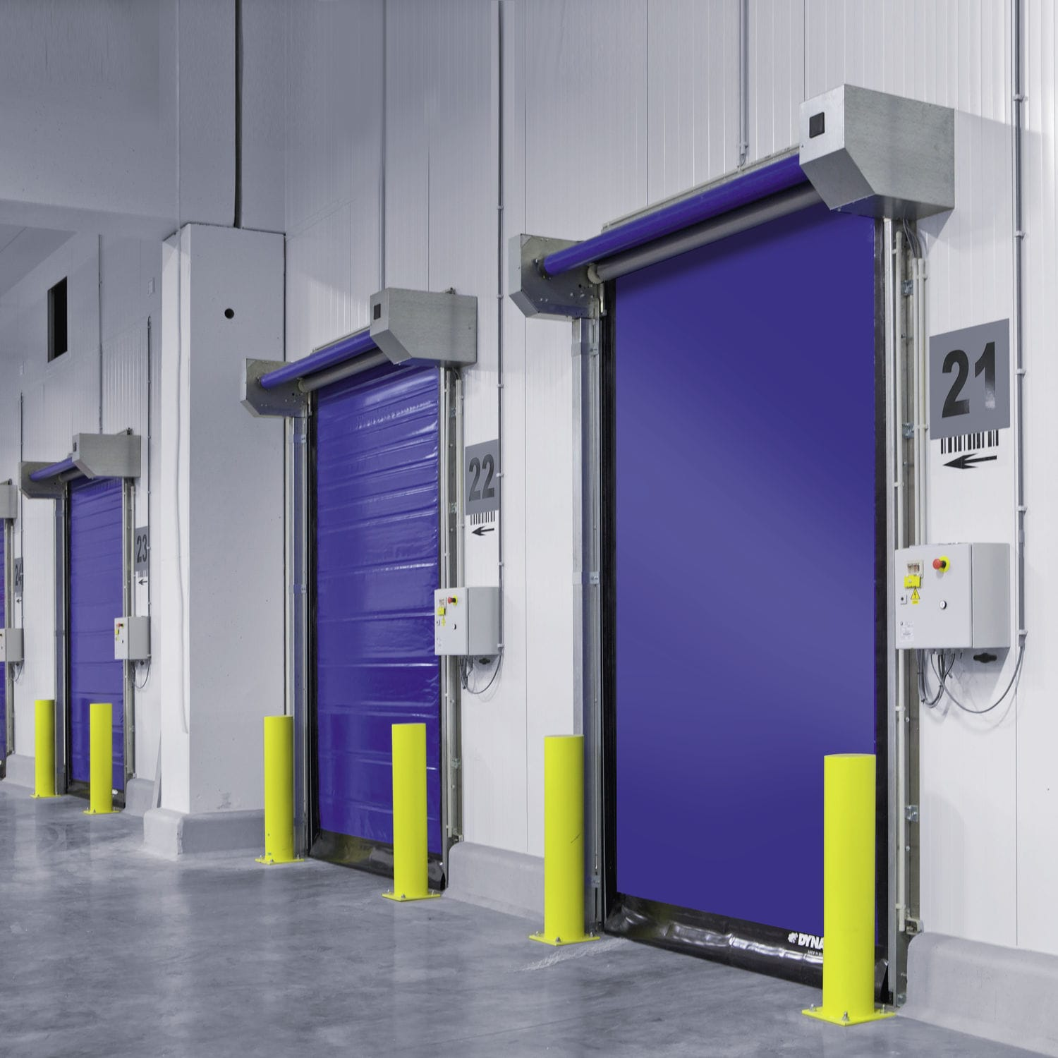 Choosing the right industrial door