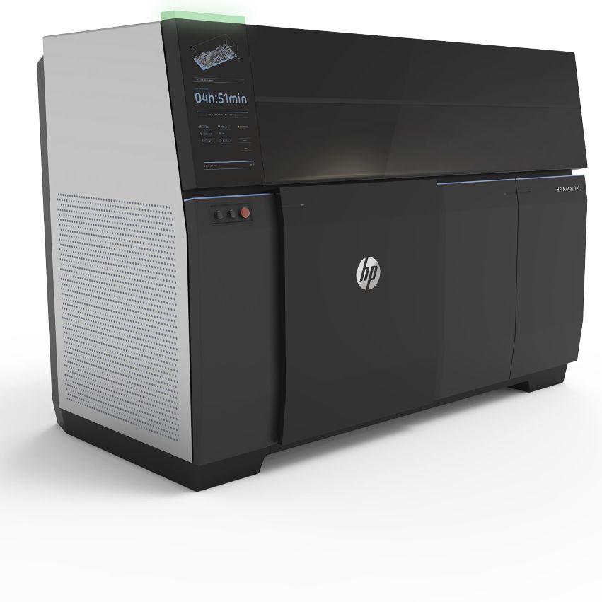 3D-принтер марки HP