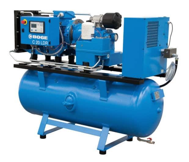 Luftkompressor der Marke BOGE