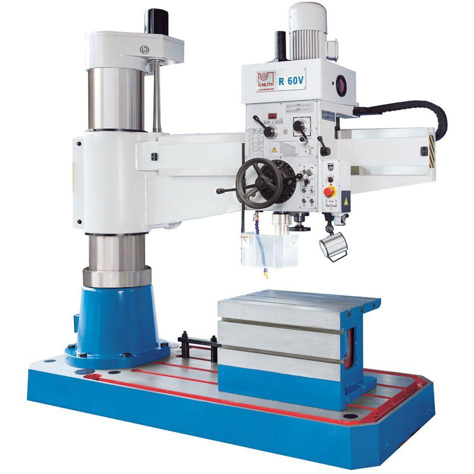 Taladradora de columna de la marca Knuth Machine Tools