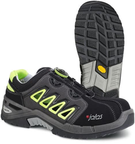 Ejemplo de calzado de seguridad resistente a la perforación de la empresa Jalas
