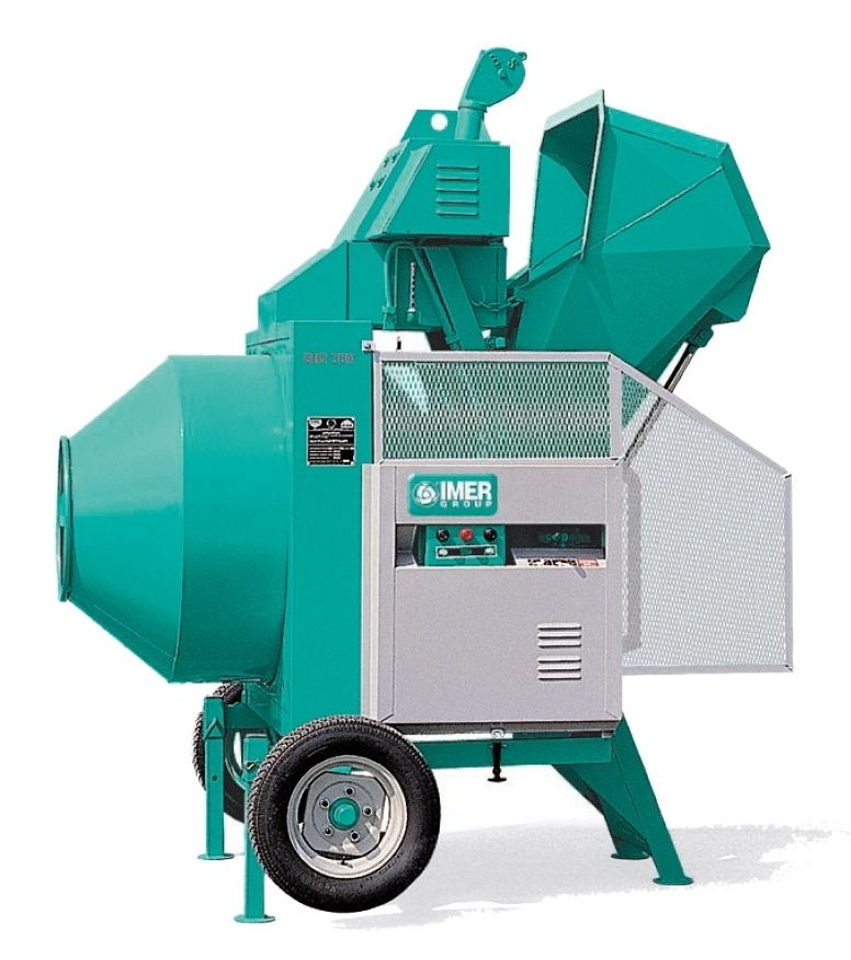 IMER International concrete mixer