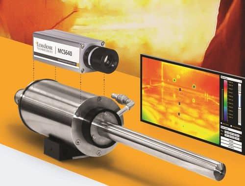 Lumasence infrared machine vision camera
