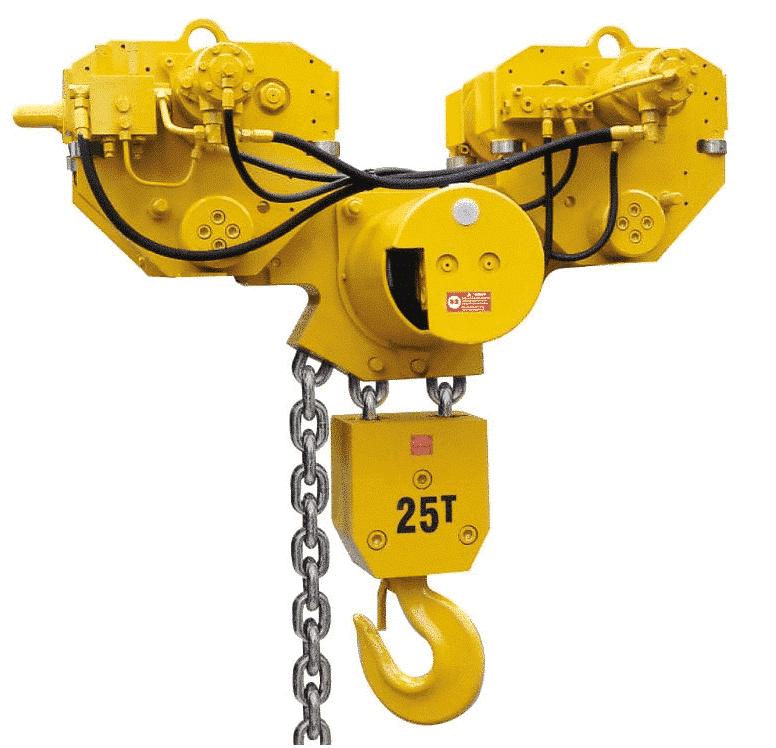 INGERSOLL RAND hydraulic hoist
