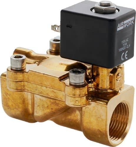 Airwork pilot-operated solenoid valve