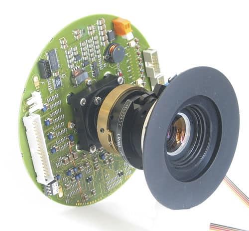 camera pour la vision industrielle (société Kappa)