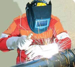 An Oerlikon MMA welder
