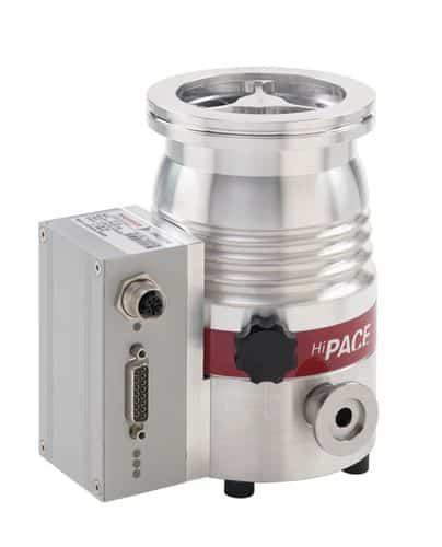 Pompa a vuoto turbomolecolare della marca Pfeiffer