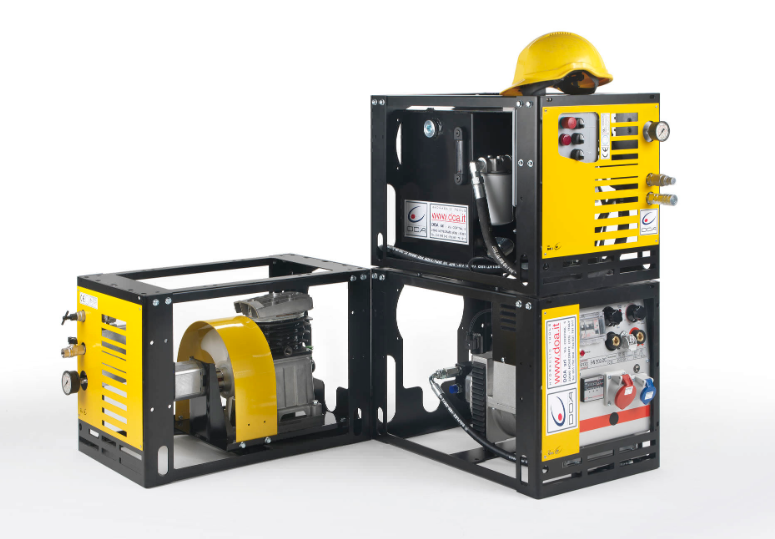 Гидравлический блок марки DOA Hydraulic Tools