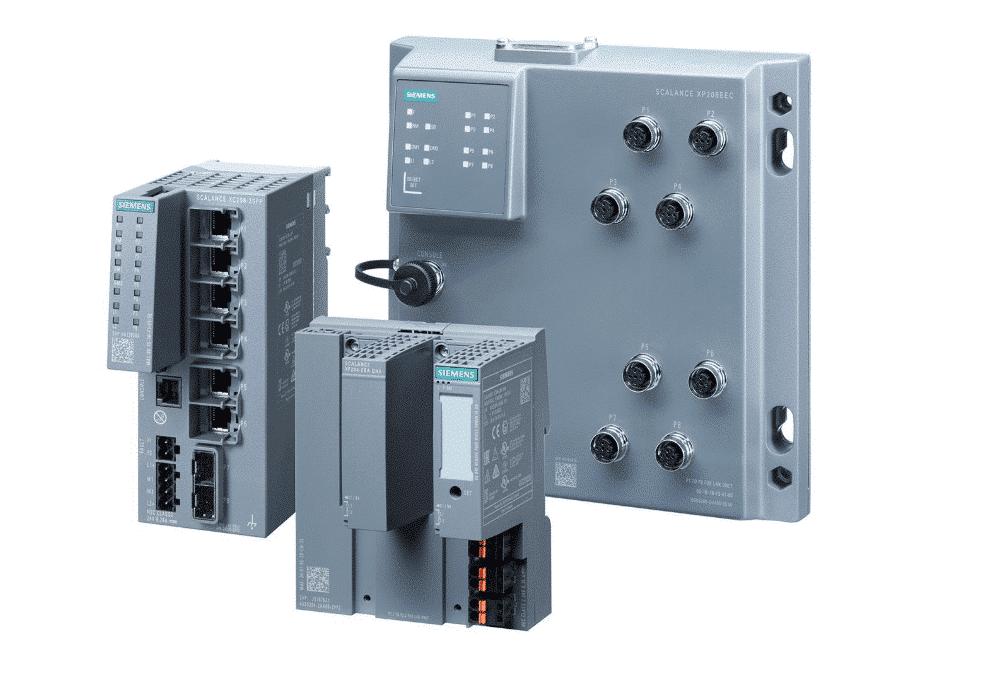 Siemensのイーサネットスイッチ