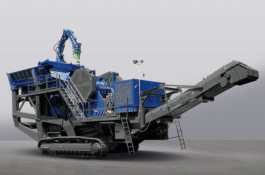 Kleeman mobile crusher