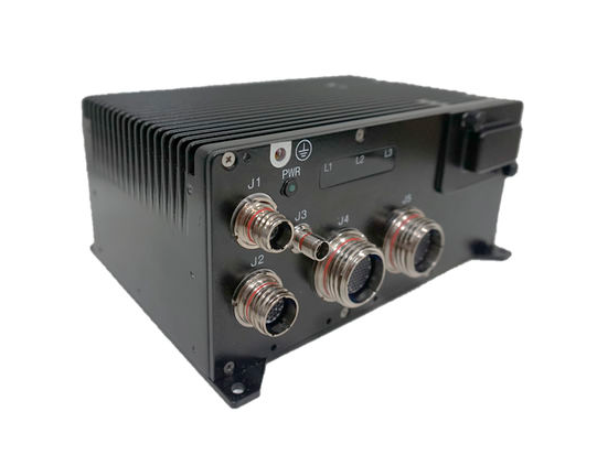 Computador industrial robusto da marca Kontron