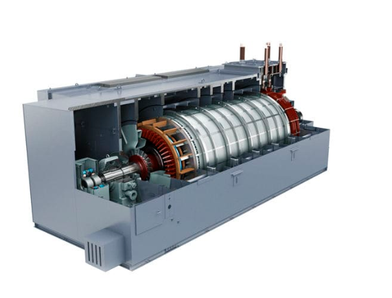 Трехфазная генераторная установка марки Siemens