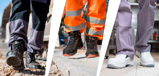 Main uses for safety shoes