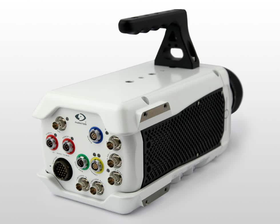 Conexión de camera industrial de la empresa Vision Research