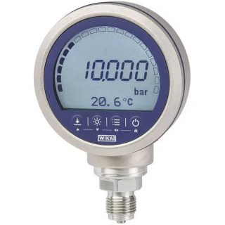 WIKAのデジタル圧力計