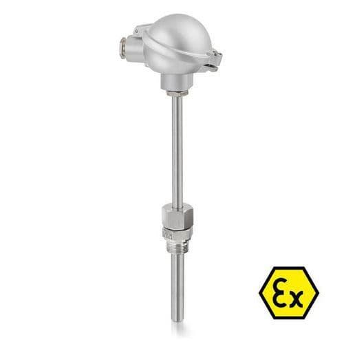 Sensor de temperatura de resistencia de marca Krohne